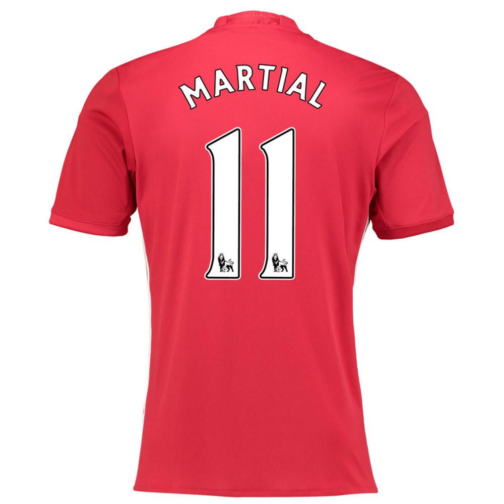 2016-17 Manchester United Home Shirt (Martial 11) - Kids