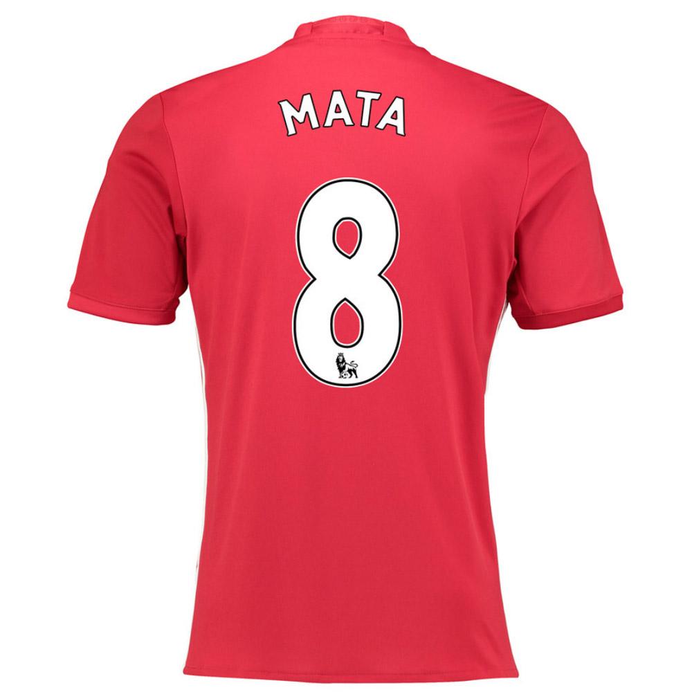 2016-17 Manchester United Home Shirt (Mata 8)