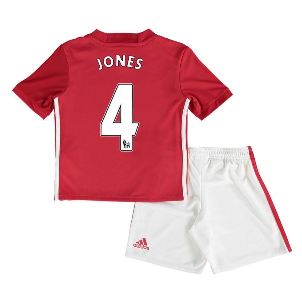 2016-17 Man United Home Mini Kit (Jones 4)