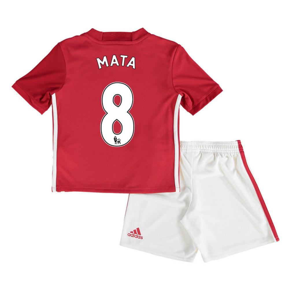 2016-17 Man United Home Mini Kit (Mata 8)