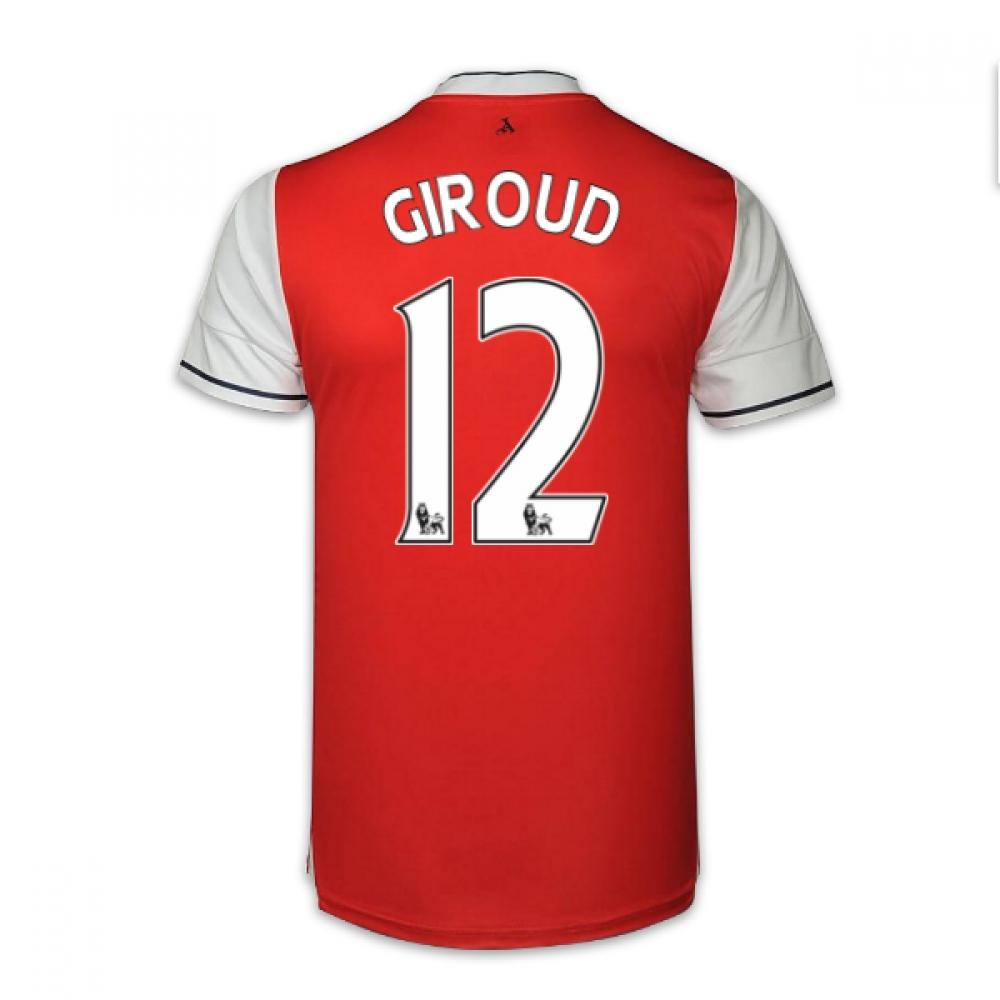 2016-17 Arsenal Home Shirt (Giroud 12) - Kids