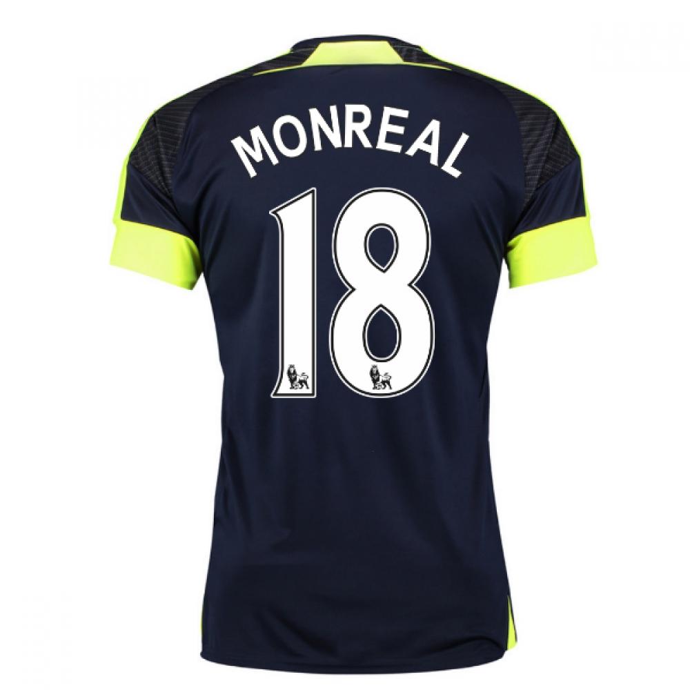 2016-17 Arsenal Third Shirt (Monreal 18) - Kids