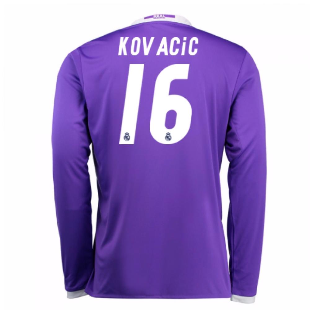 2016-17 Real Madrid Away Shirt (Kovacic 16) - Kids
