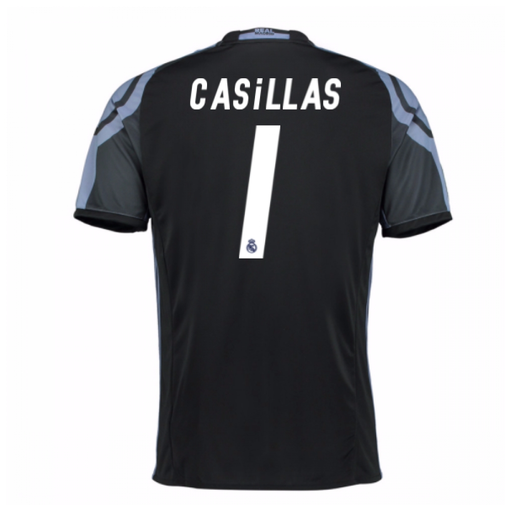 2016-17 Real Madrid 3rd Shirt (Casillas 1) - Kids