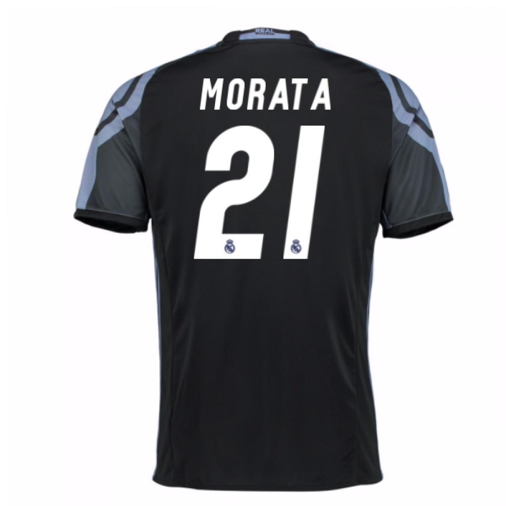 2016-17 Real Madrid 3rd Shirt (Morata 21) - Kids