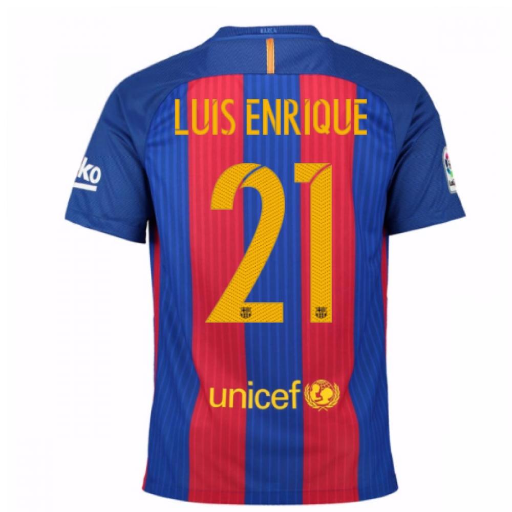 2016-17 Barcelona Home Shirt (Luis Enrique 21) - Kids