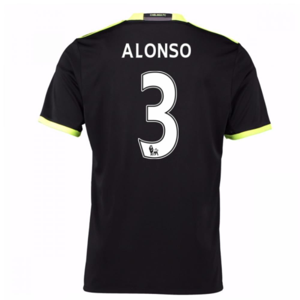 2016-17 Chelsea Away Shirt (Alonso 3) - Kids