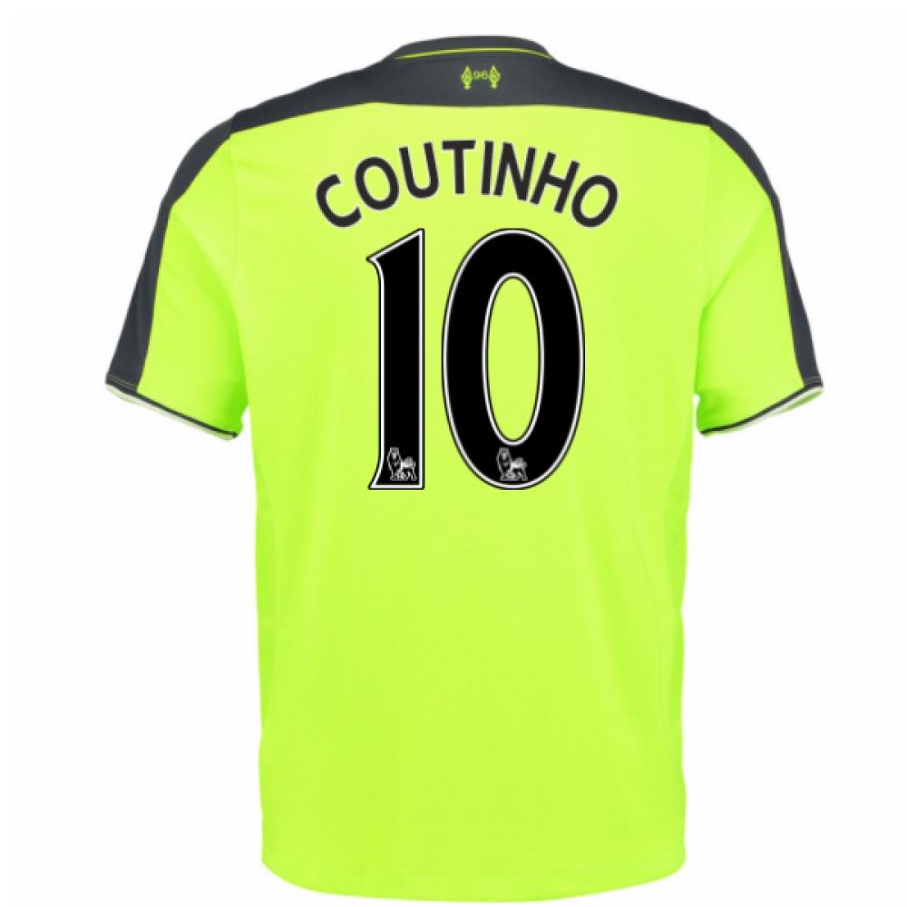 2016-17 Liverpool 3rd Shirt (Coutinho 10) - Kids