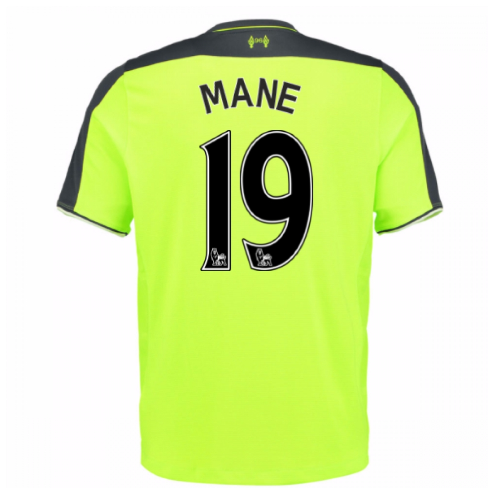 2016-17 Liverpool 3rd Shirt (Mane 19) - Kids