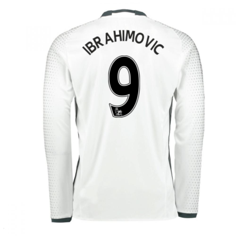 2016-17 Man United Third Shirt (Ibrahimovic 9) - Kids