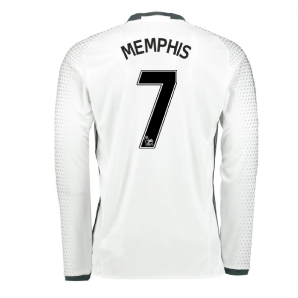2016-17 Man United Third Shirt (Memphis 7) - Kids
