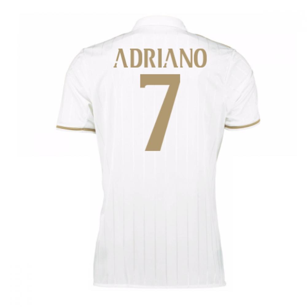 2016-17 AC Milan Away Shirt (Adriano 7) - Kids