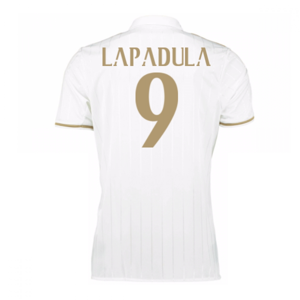 2016-17 AC Milan Away Shirt (Lapadula 9) - Kids