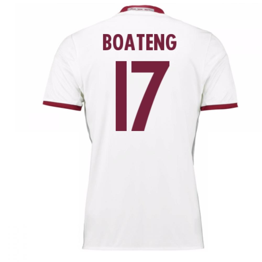 2016-17 Bayern Munich Third Shirt (Boateng 17) - Kids