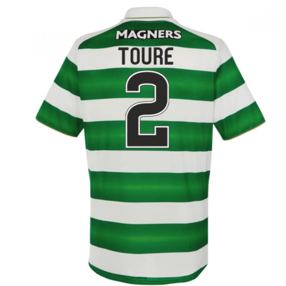 2016-17 Celtic Home Shirt (Toure 2) - Kids