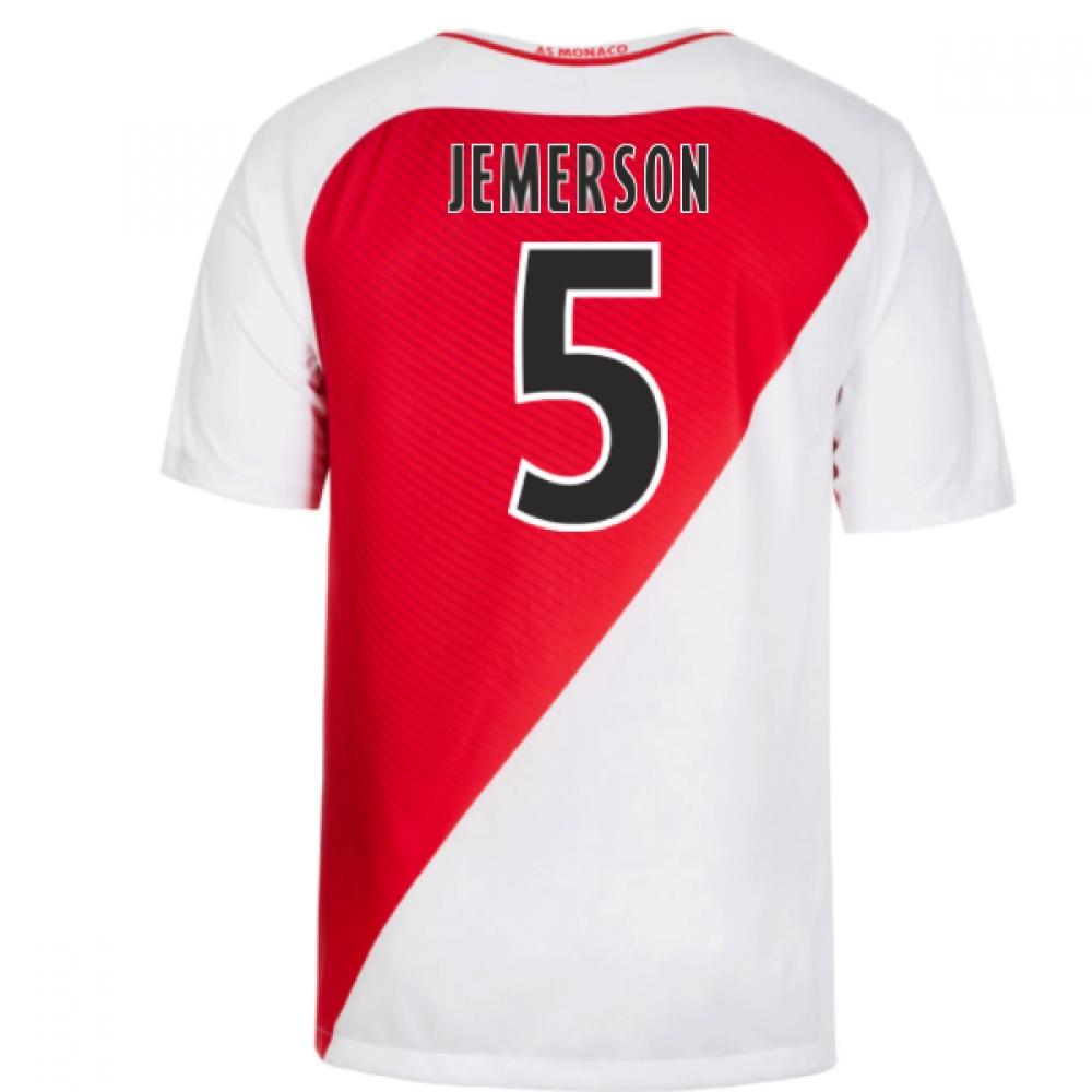 2016-17 Monaco Home Shirt (Jemerson 5) - Kids