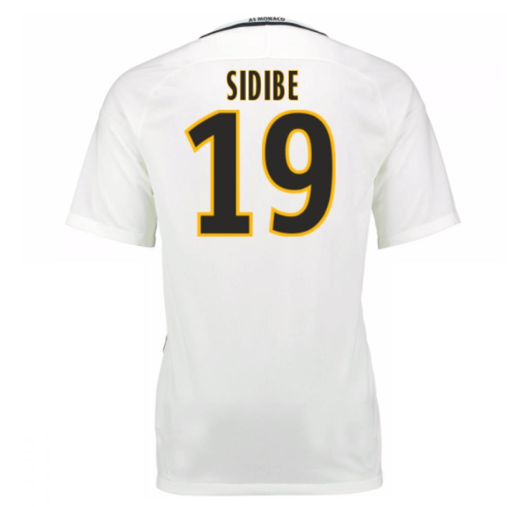 2016-17 Monaco Away Shirt (Sidibe 19) - Kids