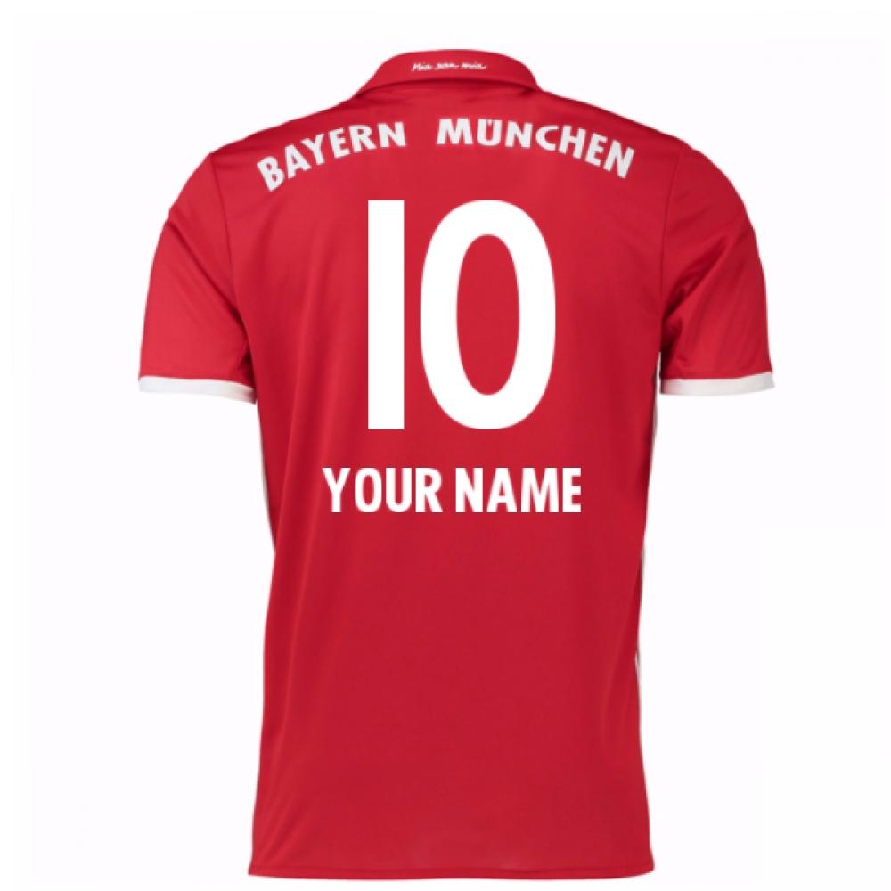 2016-17 Bayern Home Shirt (Your Name) -Kids