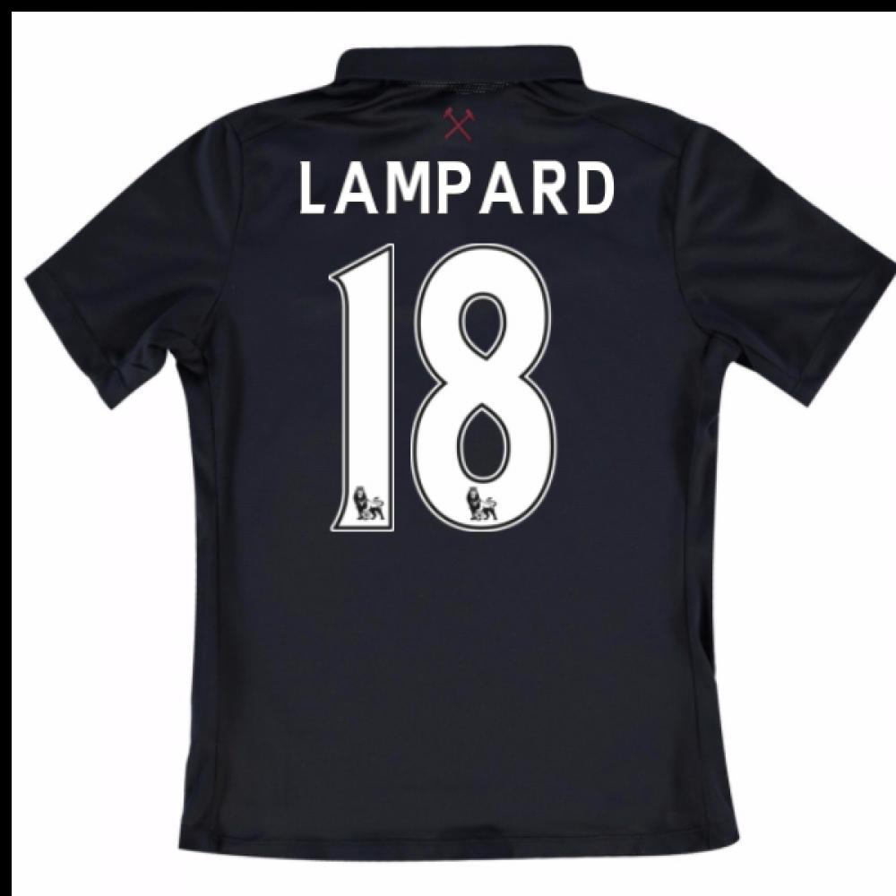 2016-17 West Ham Third Shirt (Lampard 18) - Kids