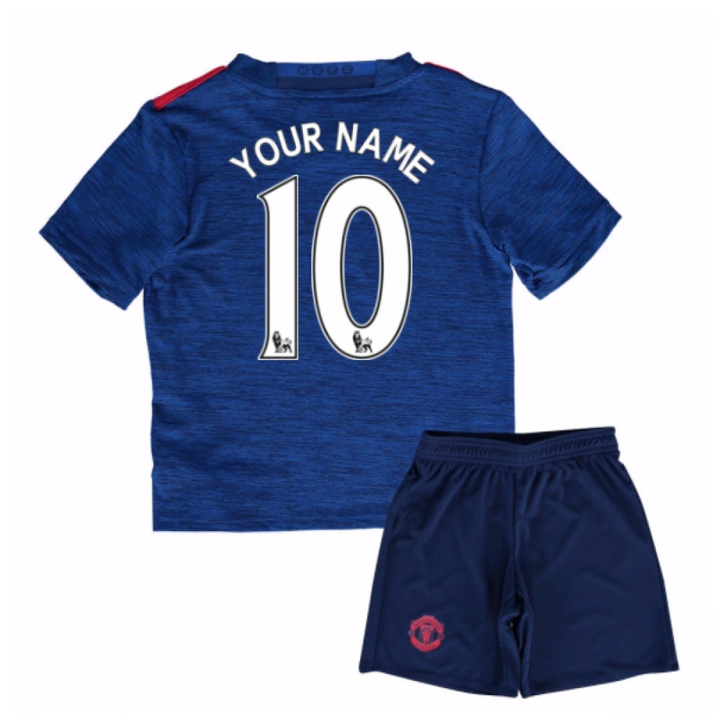 2016-17 Man United Away Baby Kit (Your Name)