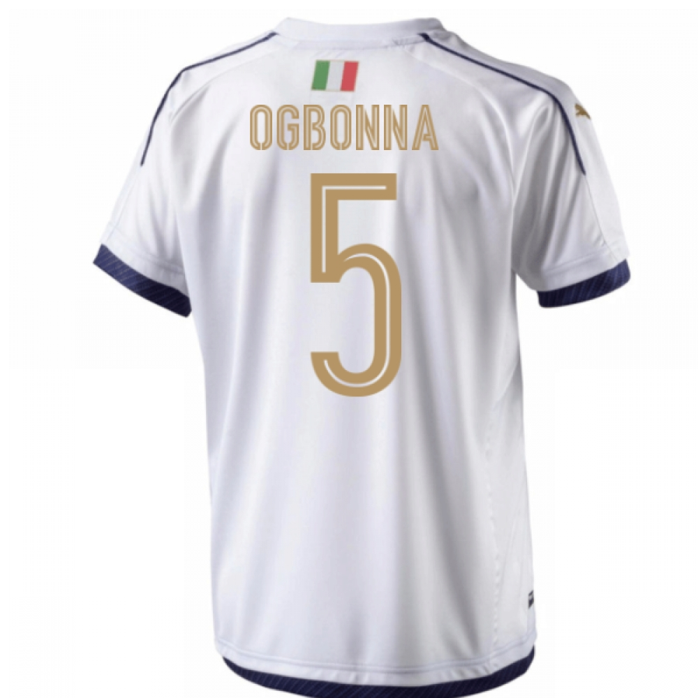 2006 Italy Tribute Away Shirt (Ogbonna 5) - Kids