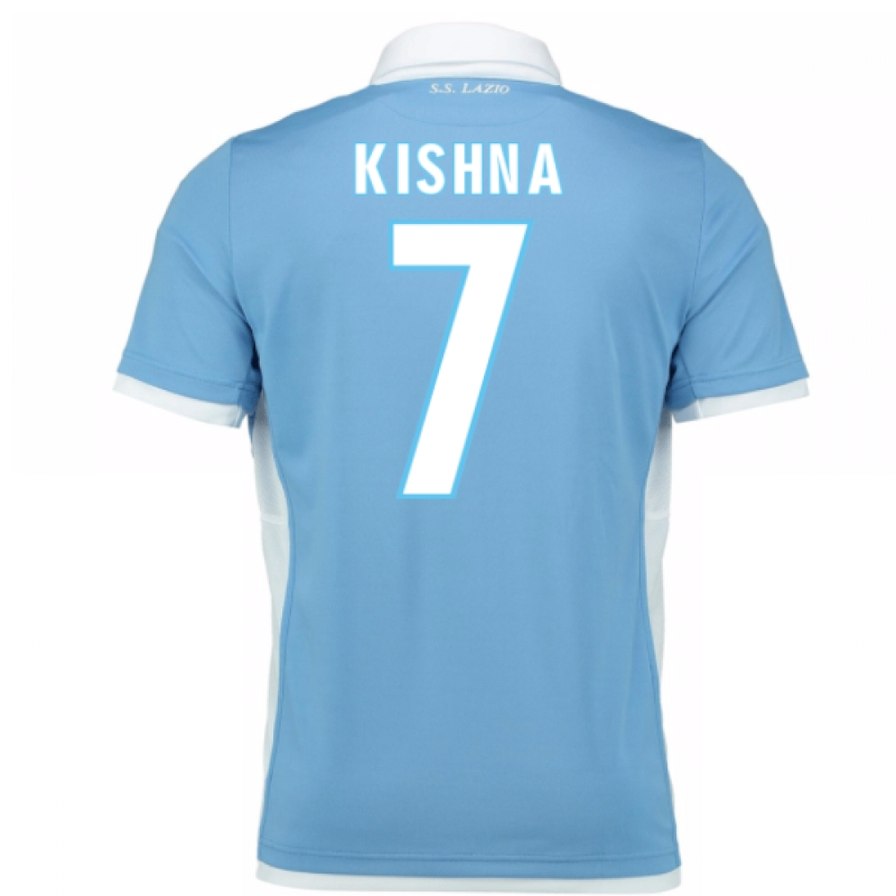 2016-17 Lazio Home Shirt (Kishna 7) - Kids