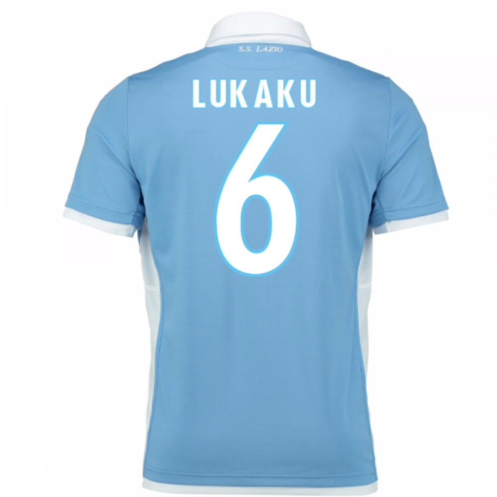 2016-17 Lazio Home Shirt (Lukaku 6) - Kids