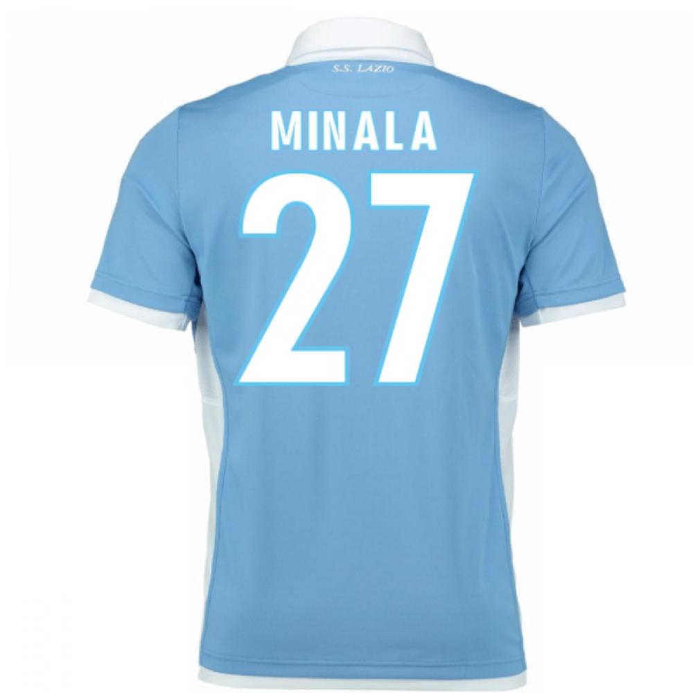 2016-17 Lazio Home Shirt (Minala 27) - Kids
