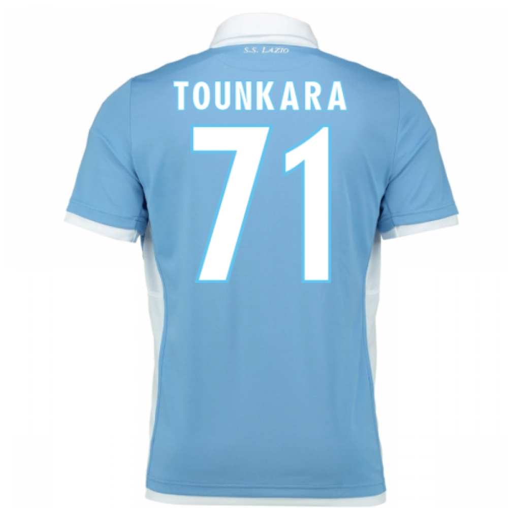 2016-17 Lazio Home Shirt (Tounkara 71) - Kids