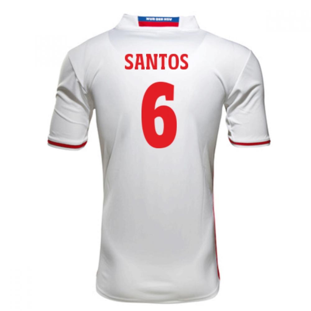 2016-17 Hamburg Sv Home Shirt (Santos 6) - Kids