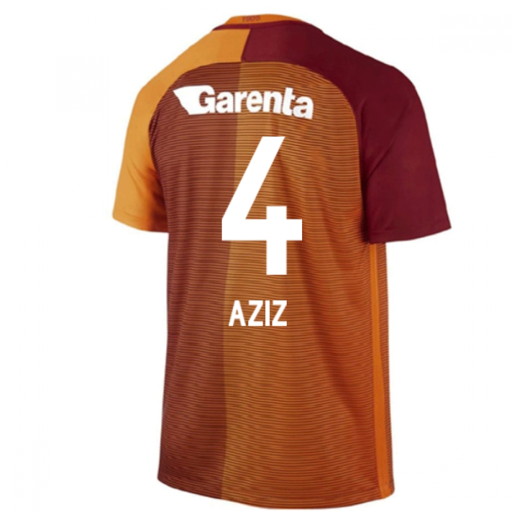 2016-17 Galatasaray Home Shirt (Aziz 4) - Kids