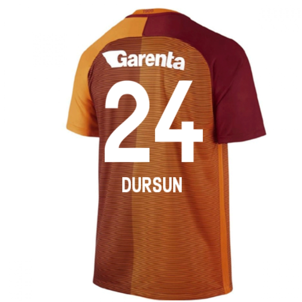 2016-17 Galatasaray Home Shirt (Dursun 24) - Kids