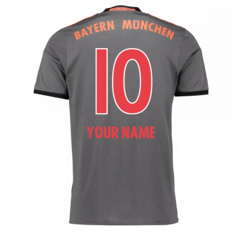 2016-17 Bayern Munich Away Shirt (Your Name) -Kids