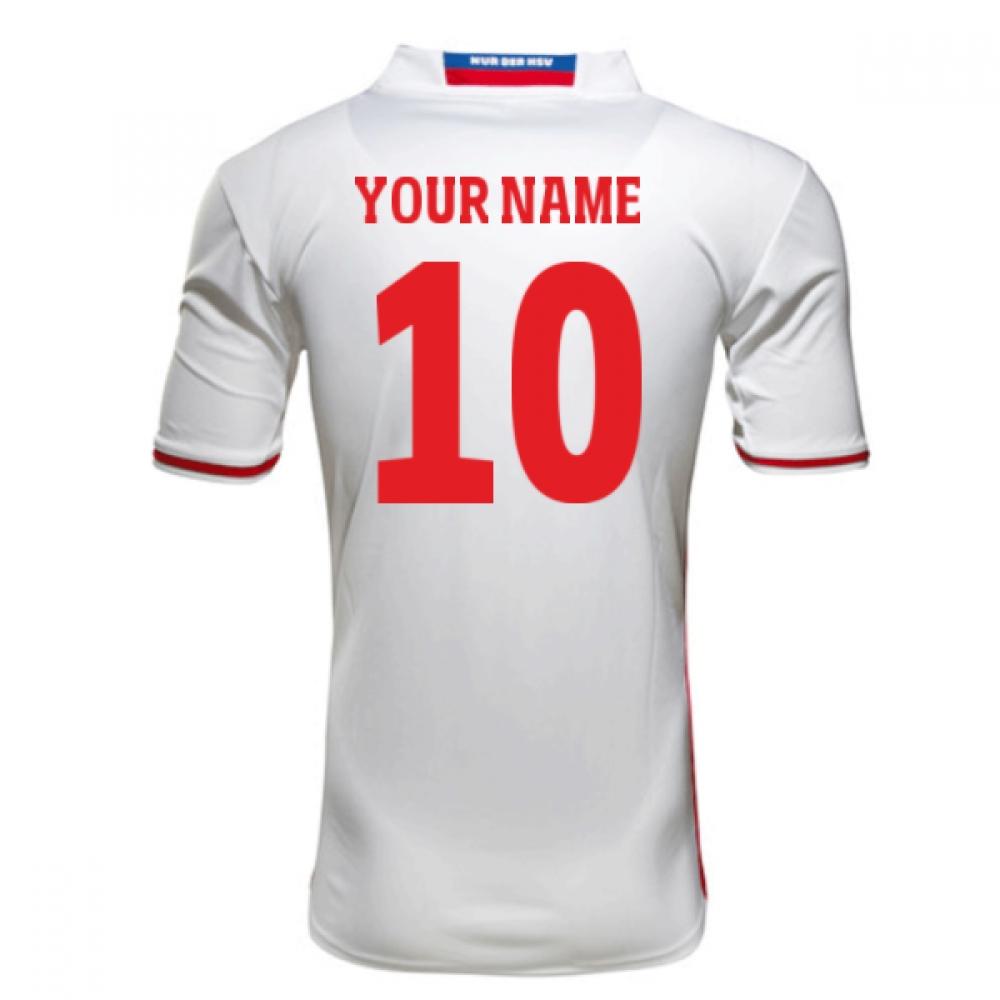 2016-17 Hamburg Sv Home Shirt (Your Name)