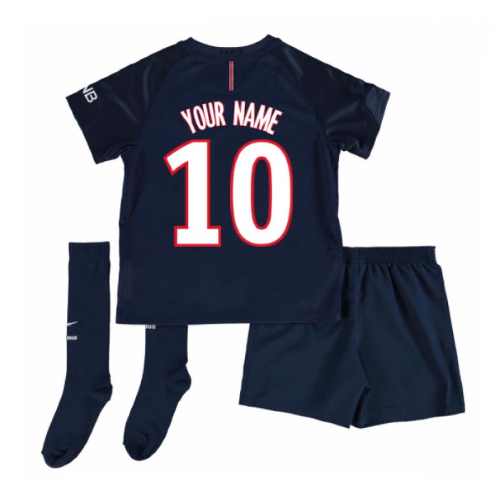 2016-17 PSG Home Mini Kit (Your Name)
