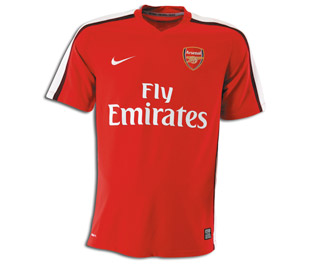 08-09 Arsenal home (with official Andrei Arshavin printing)