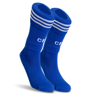 09-10 Chelsea home socks (blue)