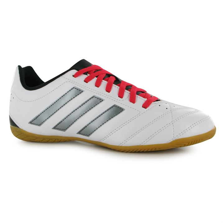 adidas Goletto Mens Indoor Football Trainers (White-Night)