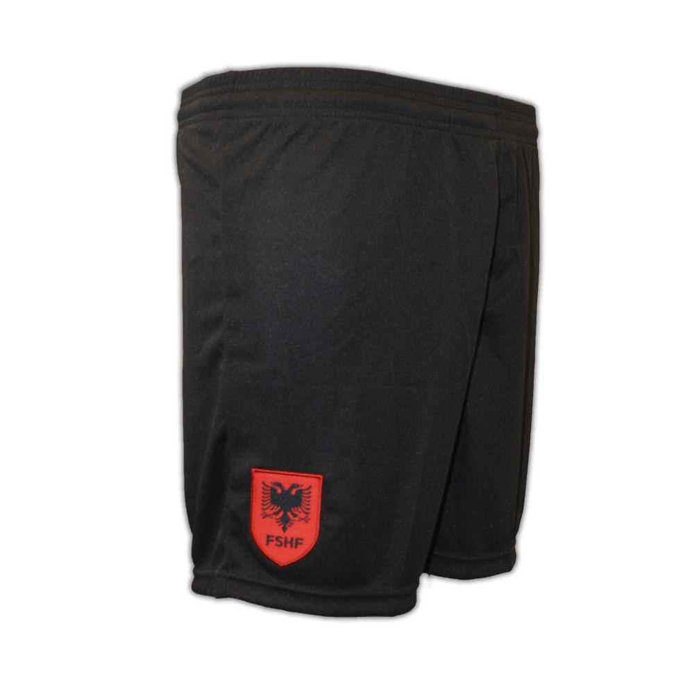 2016-2017 Albania Macron Training Shorts (Black)