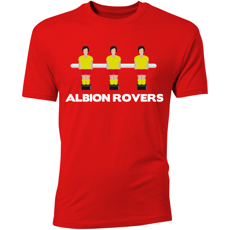 Albion Rovers Table Football T-Shirt (Red) - Kids