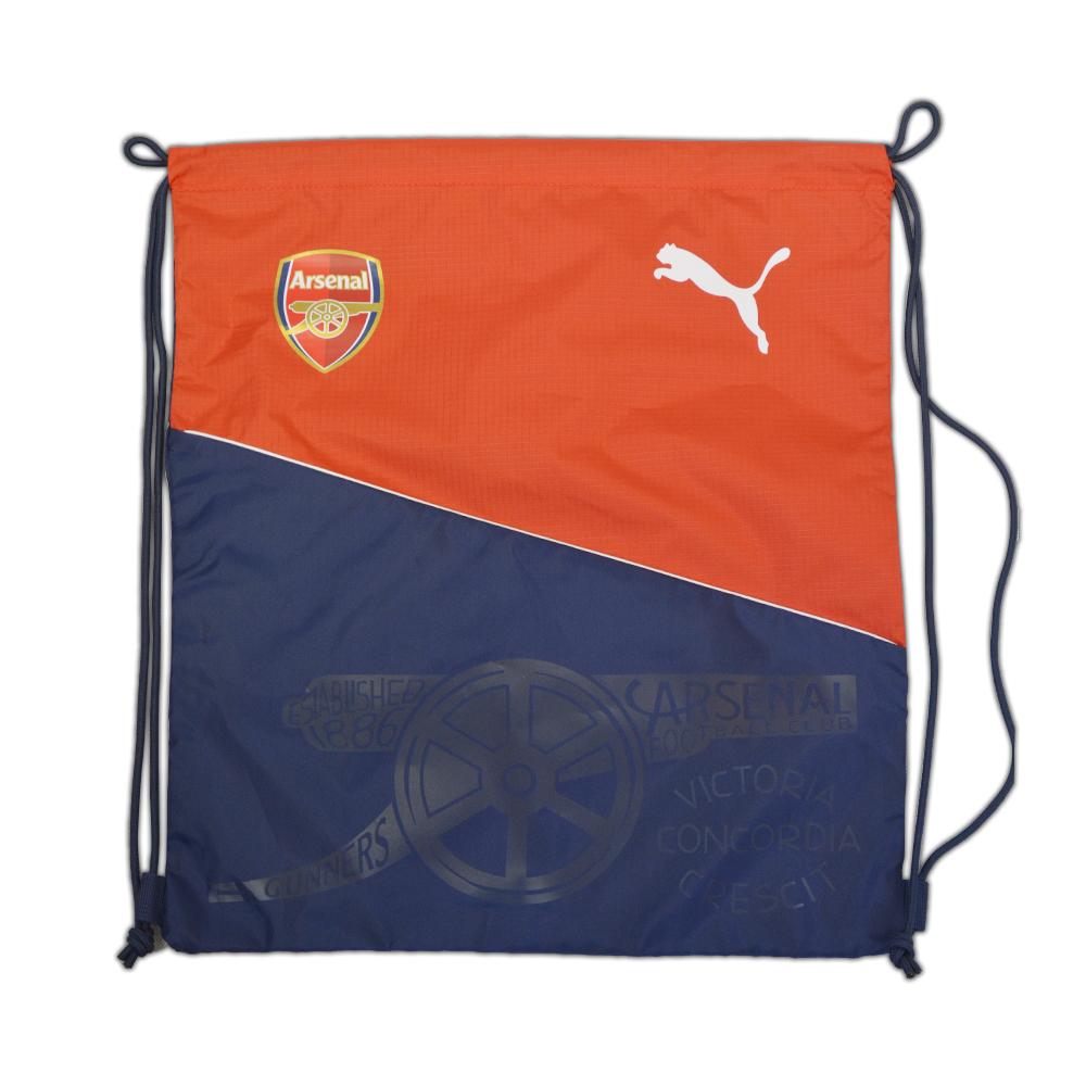 2016-2017 Arsenal Puma Fan Gym Sack (Red-Navy)