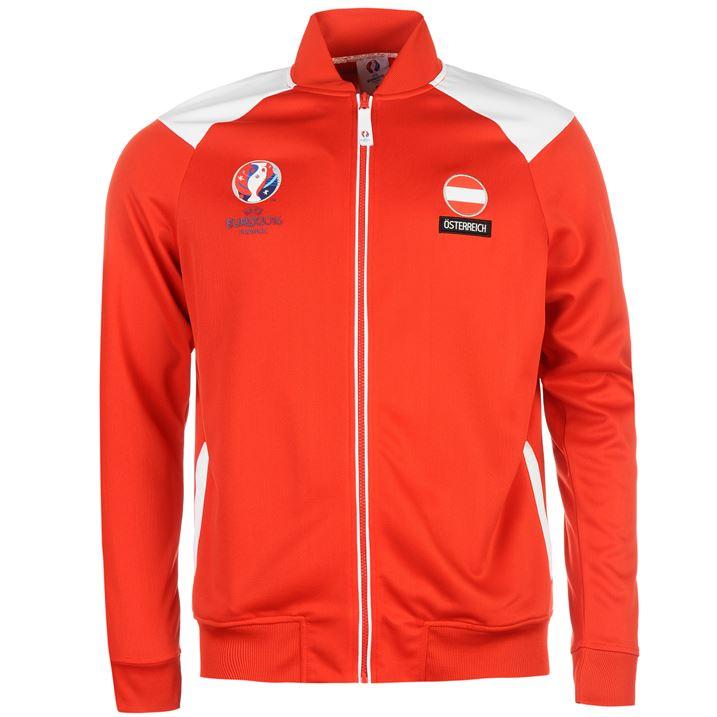 Austria UEFA Euro 2016 Track Jacket (Red)