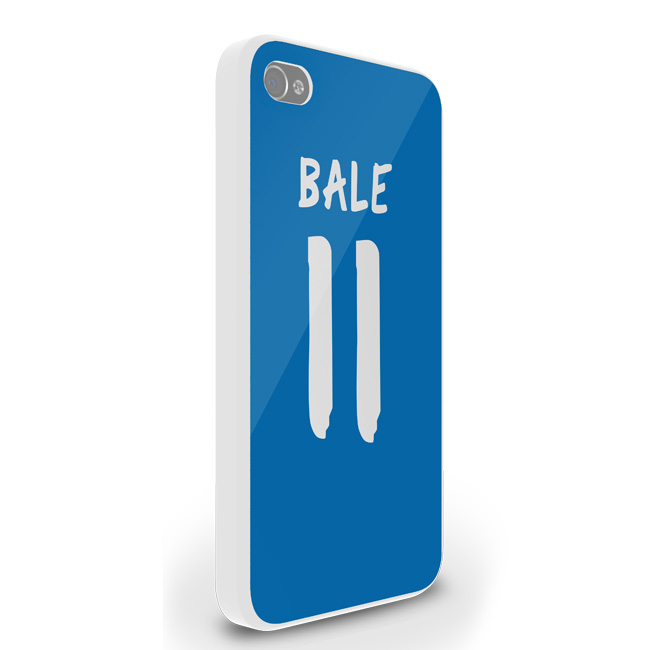 Gareth Bale Real Madrid iPhone 5 Cover (Blue-White)