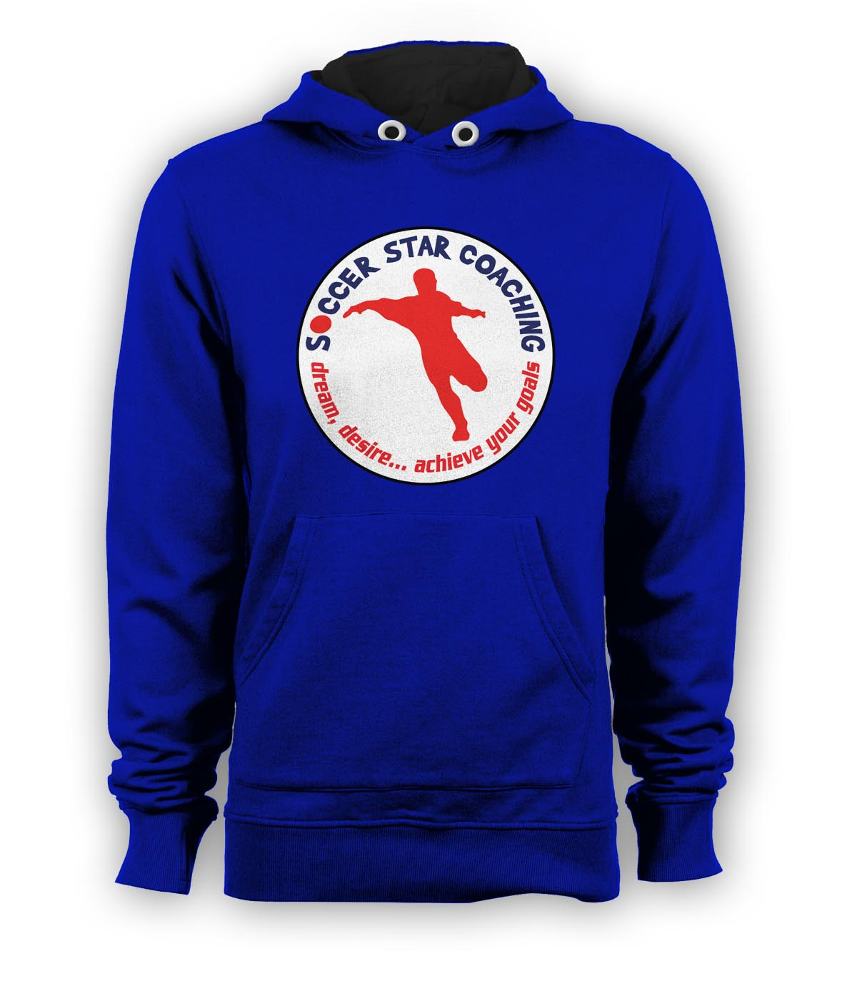 Soccer Star Coaching Dream Desire Hoody (Blue)