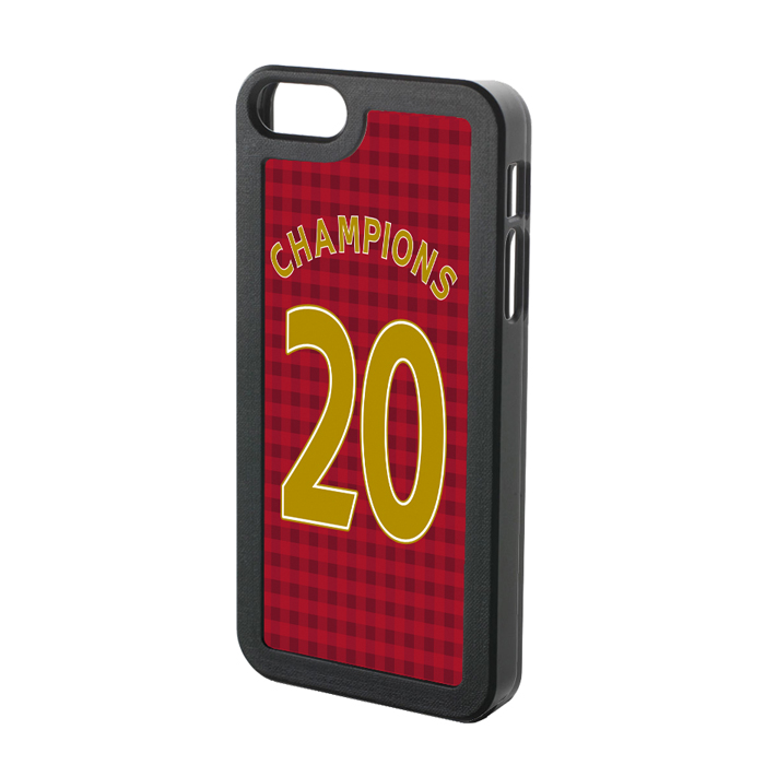 Man Utd Champions 20 iPhone 4 Cover (Red)