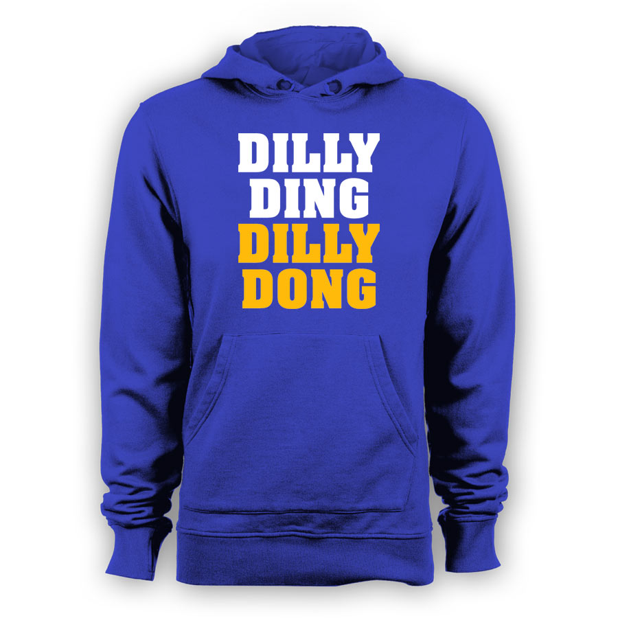 Leicester City Dilly Ding Dilly Dong Hoody (Blue) - Kids