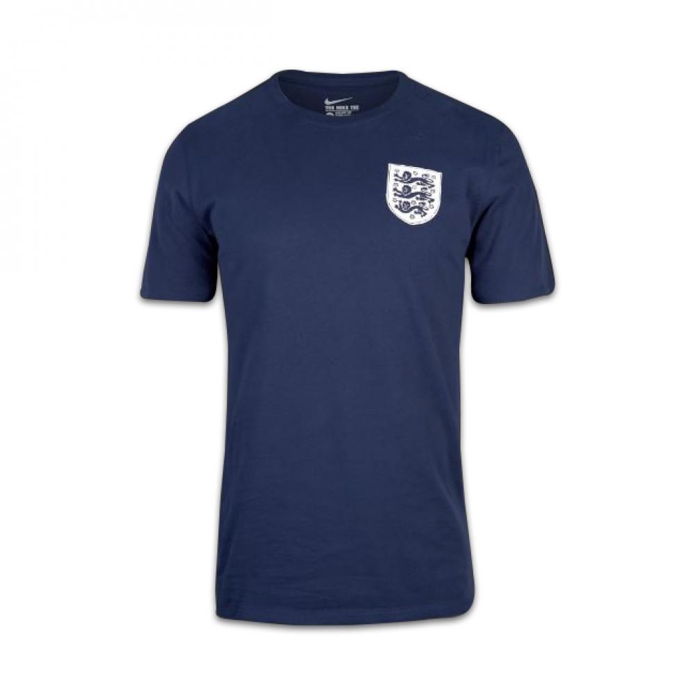 2016-2017 England Nike Squad Tee (Navy)