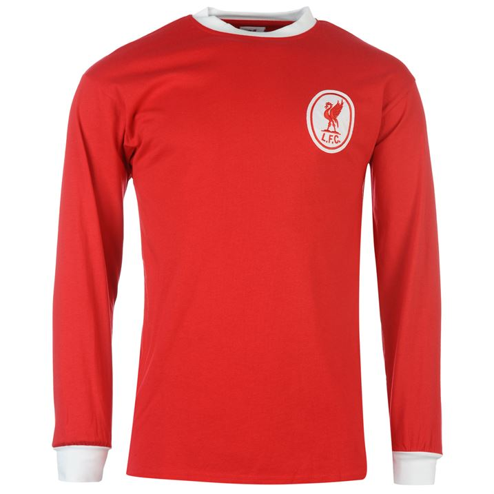 Score Draw Liverpool 1964 Home Long Sleeve Shirt