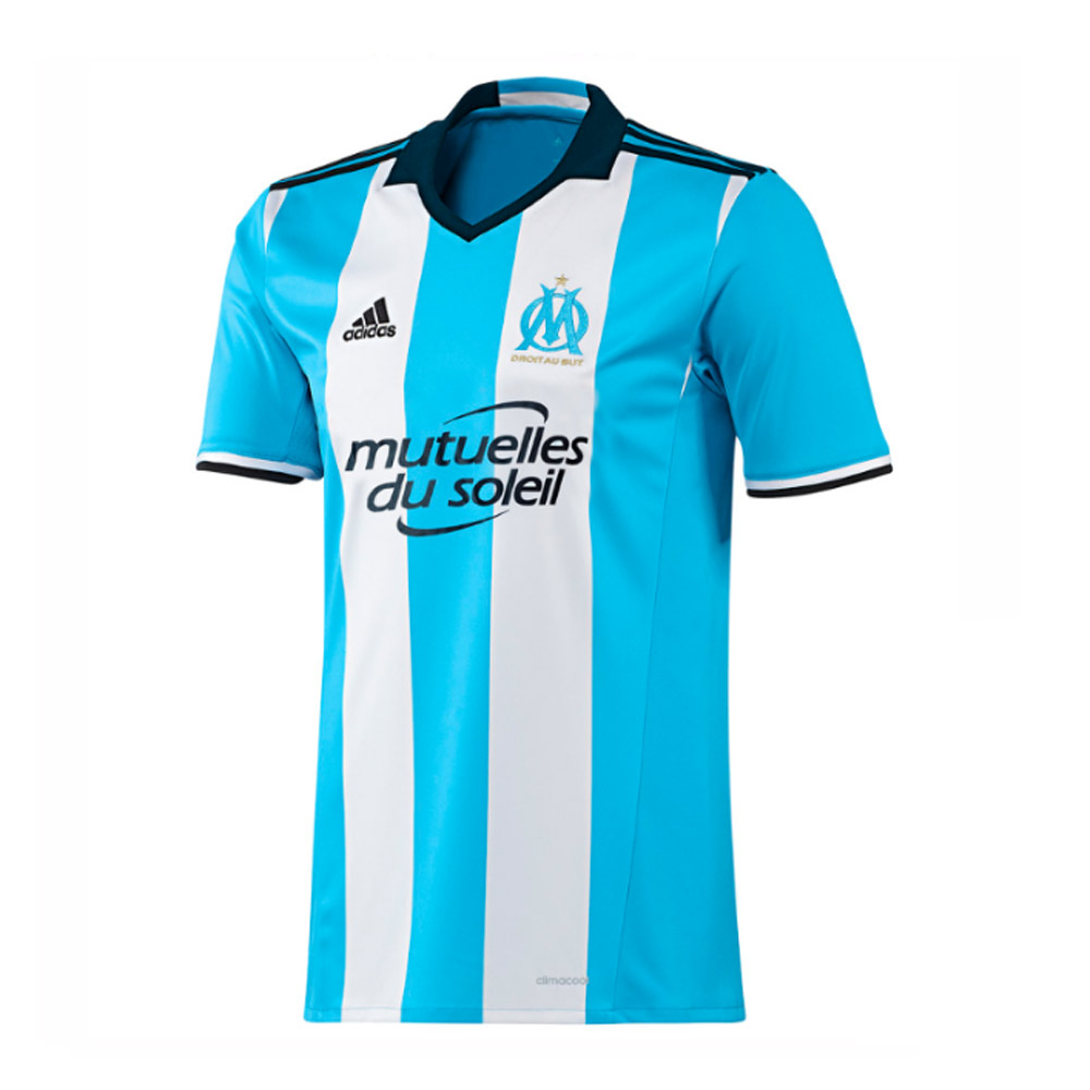 2016-2017 Marseille Adidas Third Football Shirt