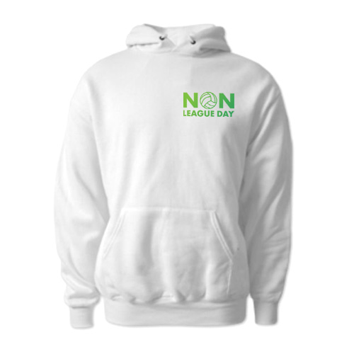 Non-League Day Logo Hoody (White)